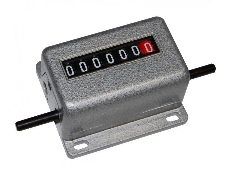 Conta metri con rimessa a zero chiave amovibile CM68