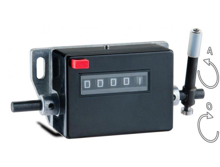CMR - Stroke counter with zeroing