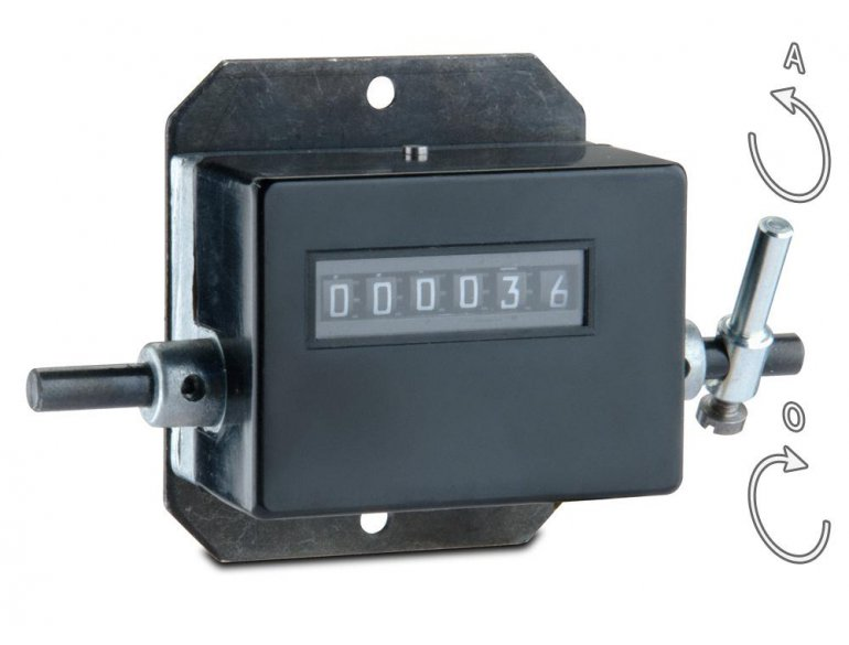 CMR - Stroke counter 6 digits without zeroing