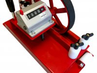 Meter counter for measuring for agricultural machinery