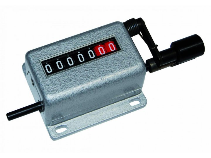 Meter Counters for belts with removable key CMB68